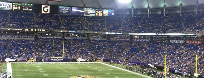 Mall of America Field is one of Sporting Venues....