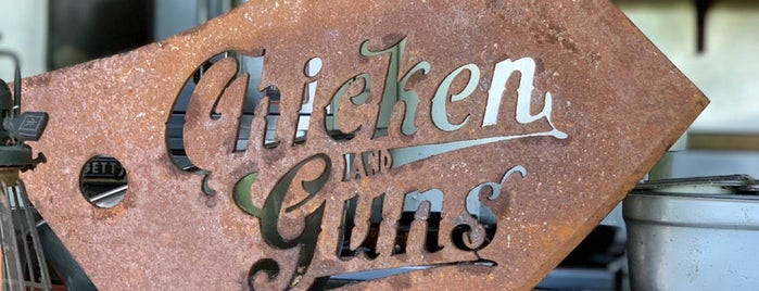 Chicken and Guns is one of Lugares favoritos de Haley.