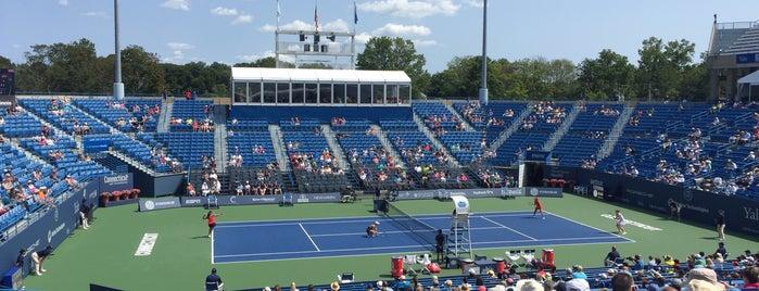 Connecticut Tennis Center is one of Locais curtidos por Bismark.