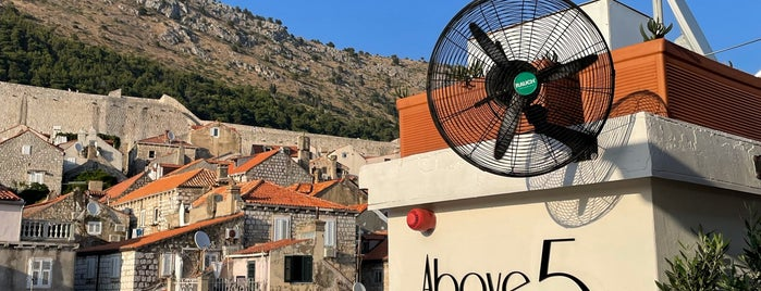 above 5 is one of Dubrovnik.