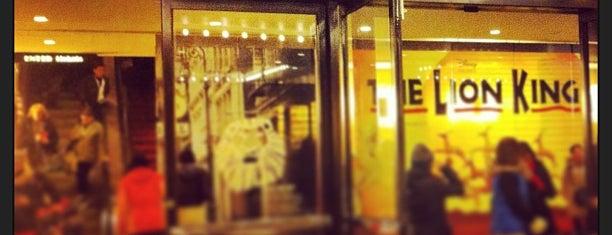 Minskoff Theatre is one of Manhattan Favorites.