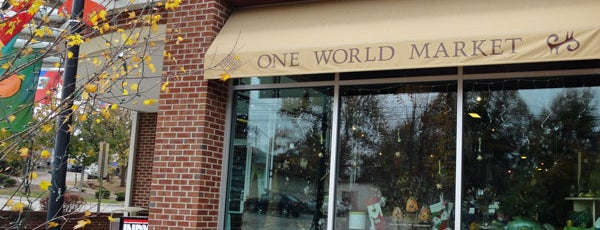 One World Market is one of Durham Localista Favorites.