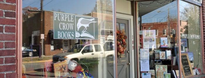Purple Crow Books is one of Hillsborough Localista Favorites.