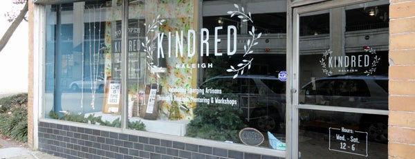 Kindred is one of Raleigh Localista Favorites.