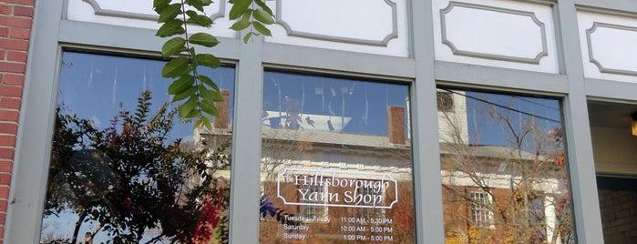 Hillsborough Yarn Shop is one of Hillsborough Localista Favorites.
