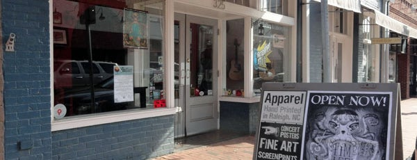 Amplified Art is one of Raleigh Localista Favorites.