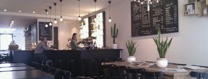 Mucho Gusto is one of Belgium Coffeebars.