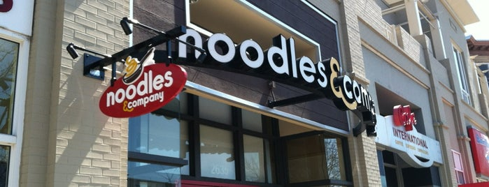 Noodles & Company is one of Shopping around town.