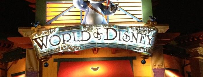 World of Disney is one of Disney Springs.