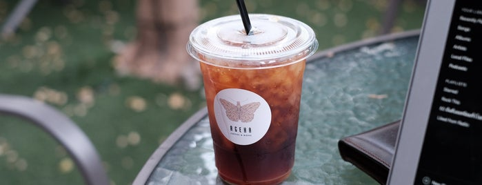 ageha coffe & music is one of 07_ตามรอย_coffee.