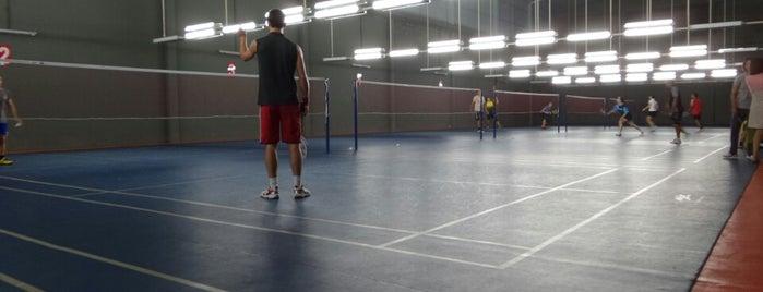 Phuket Badminton Hall is one of Lugares guardados de Andrew.