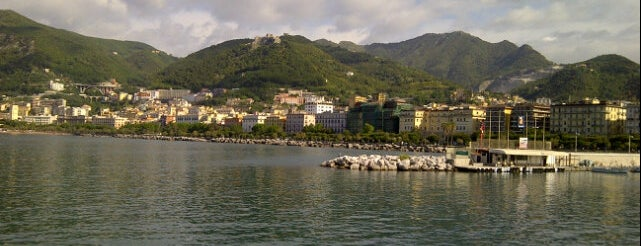 Lungomare Salerno is one of Campania Italy.