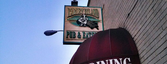 Barley Island Brewing Company is one of Jared's Saved Places.