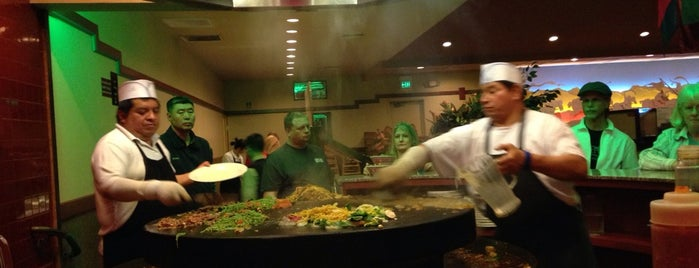 Chang's Mongolian Grill is one of Portland, OR.