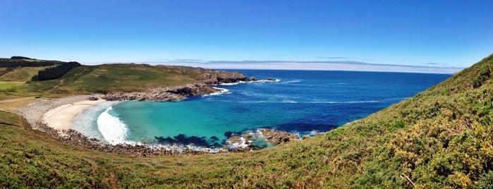 Playa Moreira is one of Guia de Galicia.