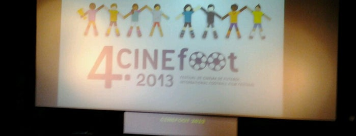 Cinefoot Festival de Cinema de Futebol is one of Cine Paradiso.