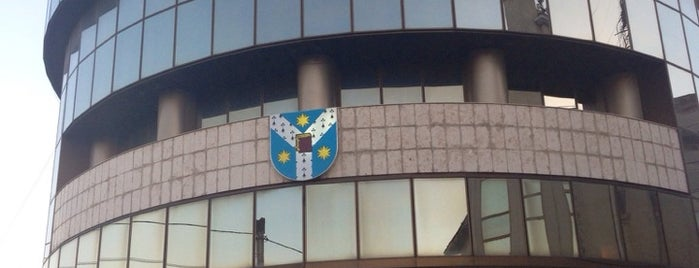 Al I Cuza University of Iasi - R Building is one of Iaşi.
