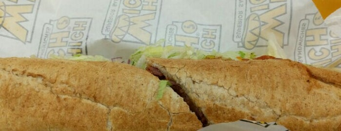 Which Wich - Kinder Morgan Building is one of Must-visit Food in Houston.