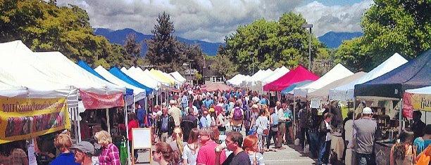 Kitsilano Farmers Market is one of Tempat yang Disimpan E.
