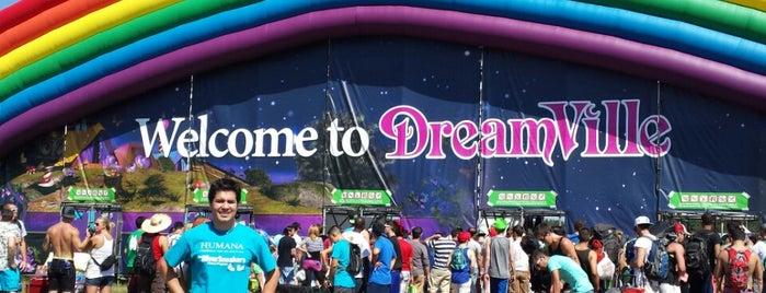 DreamVille is one of TOMORROWWORLD U.S.A. 2013.