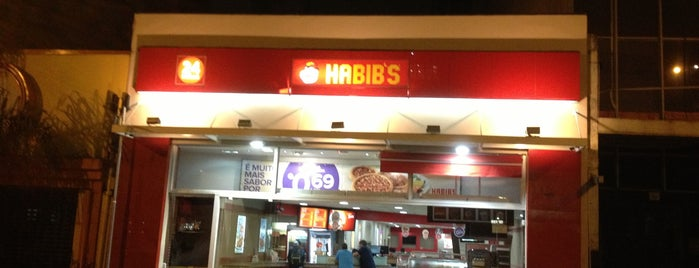 Habib's is one of Por aí em Sampa.