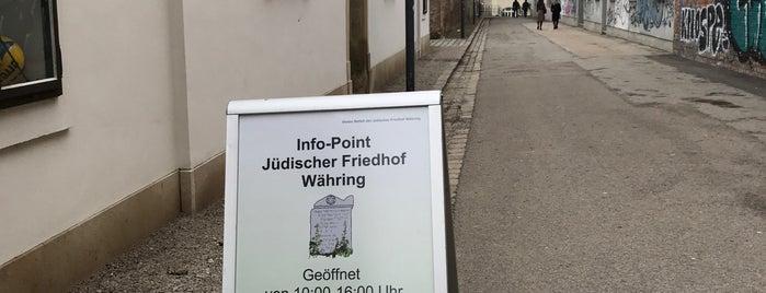 Jüdischer Friedhof Währing is one of Friedhöfe Wiens / viennas cemeteries.