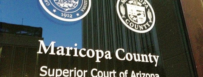 Superior Court Of Arizona (Superior Court Complex) is one of Places in Phoenix Az.