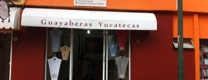 GUAYABERAS YUCATECAS MAYAB is one of Varios.