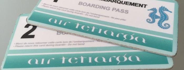 Air Tetiaroa is one of Albert : понравившиеся места.