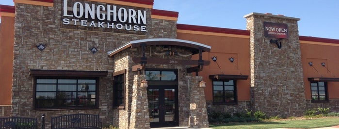 LongHorn Steakhouse is one of Houston Tx.