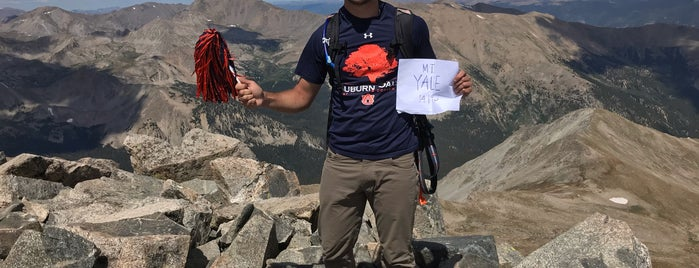 Mt. Yale summit is one of 14ers.