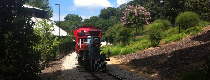 C.P. Huntington Miniature Train Station is one of Raleigh.
