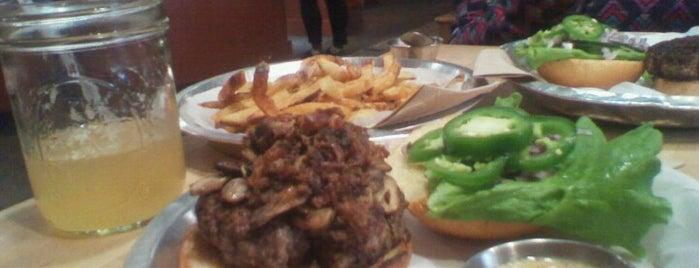 Bull City Burger and Brewery is one of Hamburgers in North Carolina.