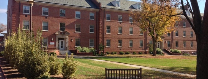 Alexander Residence Hall is one of Explore NCSU.