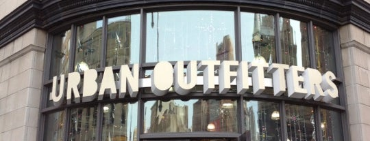 Urban Outfitters is one of NY City.