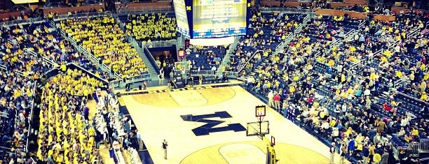 Crisler Center is one of Orte, die Dave gefallen.