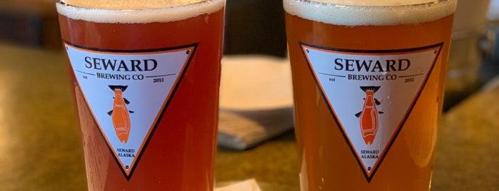 Seward Brewing Co. is one of Orte, die Andreas gefallen.