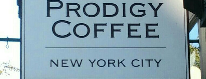 Prodigy Coffee is one of New York - Food.