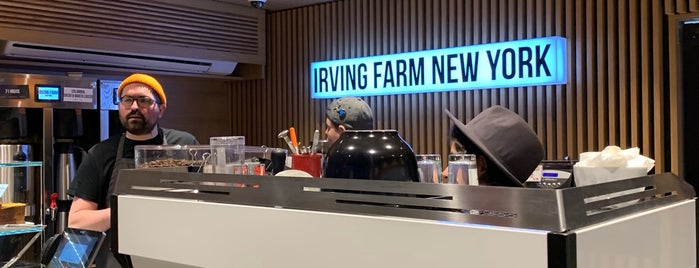 Irving Farm Coffee Roasters is one of New: NYC 🆕.