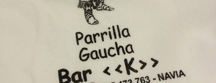 Bar K is one of Lugares favoritos de Daniel.