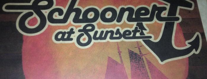 Schooner at Sunset is one of Mmmm beeeer.