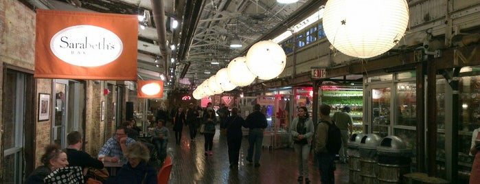 Chelsea Market is one of Nova York.