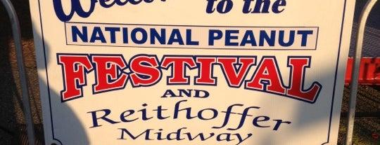 National Peanut Festival is one of Gespeicherte Orte von Alexandra.