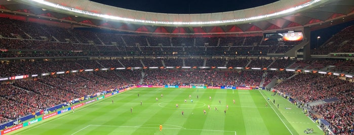 Estadio Wanda Metropolitano is one of Lara 님이 좋아한 장소.