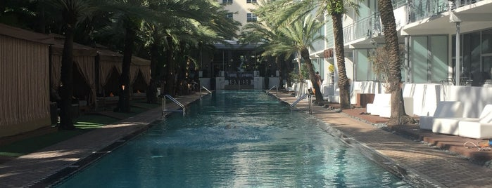 National Hotel Miami Beach is one of Lara 님이 좋아한 장소.