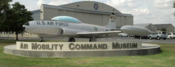 Air Mobility Command Museum is one of Delaware.