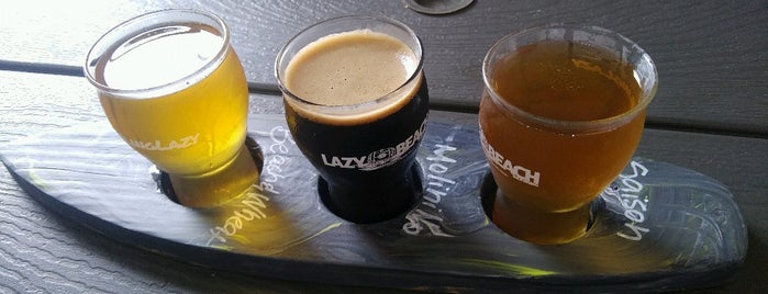 Lazy Beach Brewery is one of Texas.
