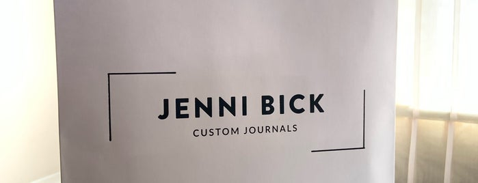 Jenni Bick Custom Journals is one of Washington.