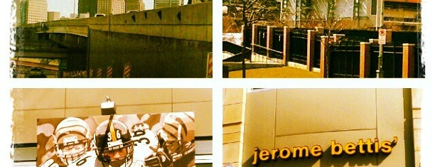 Jerome Bettis' Grille 36 is one of Pixburgh.