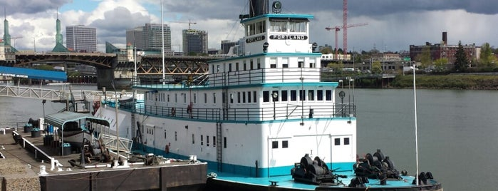 Oregon Maritime Museum is one of Oregon Adventure (smell the roses).